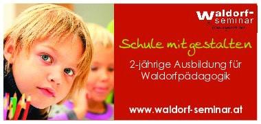 bildungsserver Infobanner Waldorf Seminar, Schule mitgestalten, 2-jährige Ausbildung für Waldorfpädagogik